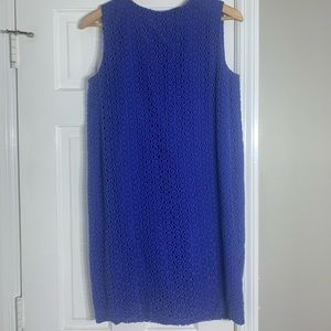 Diane Von Furstenberg Size 4 Crochet Shift Dress